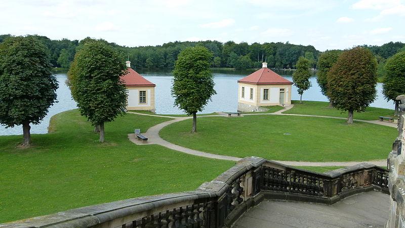 Moritzburg - zámecký park